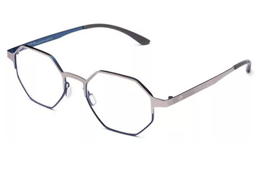 Adidas AOM006O.075.022 silver and blue 50 Eyeglasses