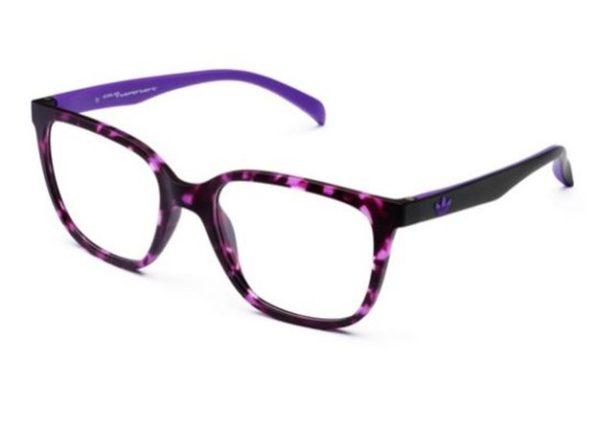 Adidas AOR010O.144.009 havana violet and black 53 Eyeglasses