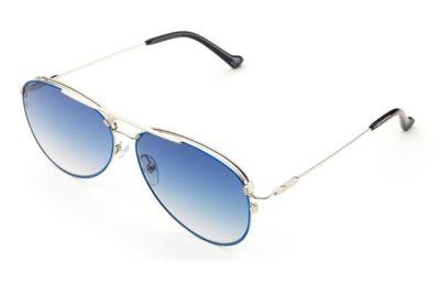 Adidas AOM016.075.022 silver&blue 58 Sunglasses