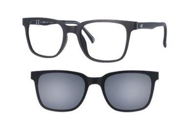 CentroStyle 56368 MATT BLACK 50 19-145 MON  50 Men's Eyeglasses