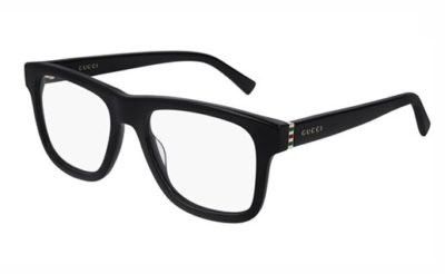 Gucci GG0453O 005 black gold transparen 53 Men's Eyeglasses