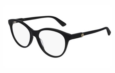 Gucci GG0486O 001 black black transpare 54 Women's Eyeglasses