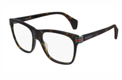 Gucci GG0526O 002 havana havana transpa 54 Men's Eyeglasses