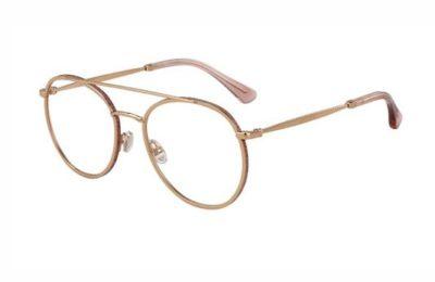 Jimmy Choo Jc230 EYR/20 GOLD PINK 54 Women's Eyeglasses