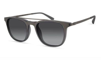 MODO RILA clip on warm grey 50 Men's Eyeglasses