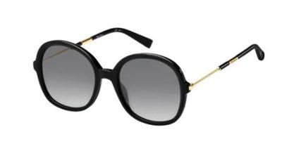 Max Mara Mm Wand Iii 807/9O BLACK 53 Women's Sunglasses