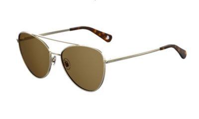Moschino Love Mol011/s 086/70 DARK HAVANA 59 Women's Sunglasses