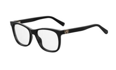 Moschino Love Mol520 807/17 BLACK 52 Women's Eyeglasses