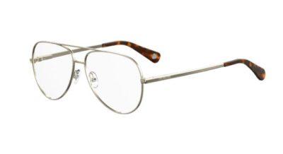 Moschino Love Mol531 086/13 DARK HAVANA 56 Women's Eyeglasses
