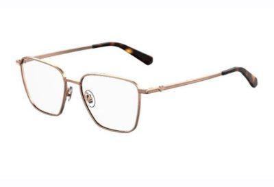 Moschino Love Mol533 086/15 DARK HAVANA 52 Women's Eyeglasses
