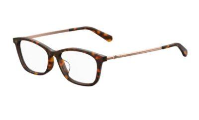 Moschino Love Mol535/f 086/15 DARK HAVANA 52 Women's Eyeglasses