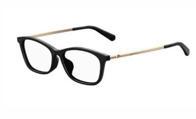 Moschino Love Mol535/f 807/15 BLACK 52 Women's Eyeglasses