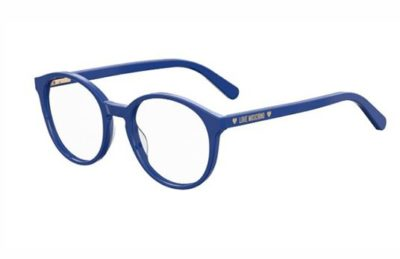 Moschino Love Mol540 PJP/19 BLUE 50 Women's Eyeglasses