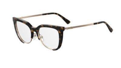 Moschino Mos530 086/17 DARK HAVANA 52 Women's Eyeglasses