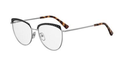 Moschino Mos541/f BSC/17 BLACK SILVER 54 Women's Eyeglasses