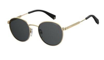 Polaroid Pld 2053/s 2F7/M9 GOLD GREY 51 Unisex Sunglasses