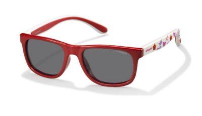 Polaroid Pld 8012/s MC4/Y2 CORAL WHITE 46 Kids Sunglasses