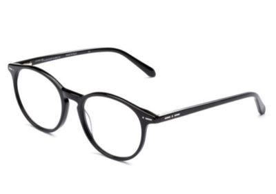 Italia Independent 5867.009.GLS black glossy 50 Eyeglasses