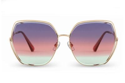 Sun BL7115 light gold 59 Women's Sunglasses