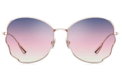 Sun BL7105A31 rose gold 58 Women's Sunglasses