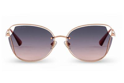 Sun BL7121 rose gold 58 Women's Sunglasses