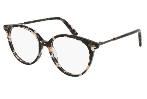 Bottega Veneta BV0105O avana 51 Women's Eyeglasses