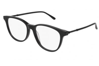 Bottega Veneta BV0136O 006-black 53 Women's Eyeglasses