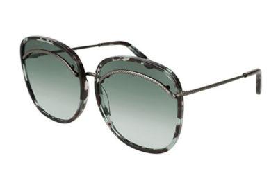 Bottega Veneta BV0138S 004-avana 61 Women's Sunglasses