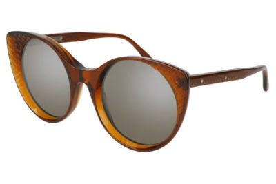 Bottega Veneta BV0148S 002-brown 54 Women's Sunglasses
