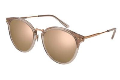 Bottega Veneta BV0152SK 004-gold 56 Unisex Sunglasses