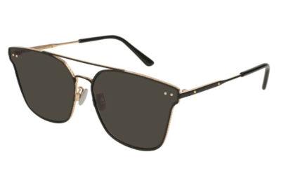 Bottega Veneta BV0158SK 001-black 64 Unisex Sunglasses