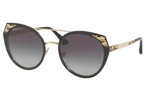 Bvlgari 6095 20248G 53 Women's Sunglasses