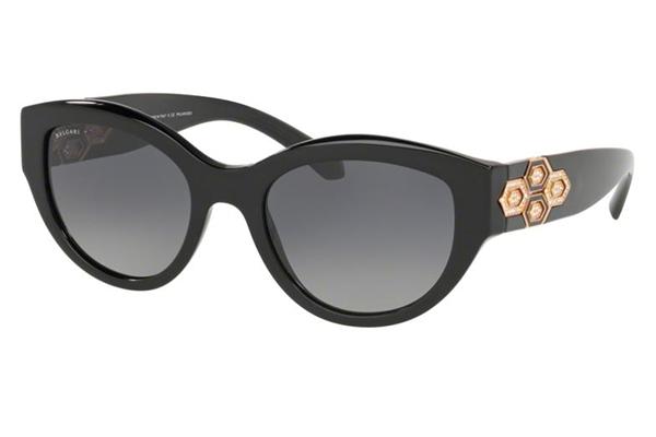 Bvlgari 8221B 501/T3 53 Women's Sunglasses