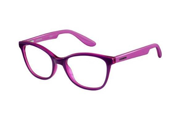 Carrera Carrerino 50 HMM/17 VLTPKCHRR PK 49 Kids Eyeglasses