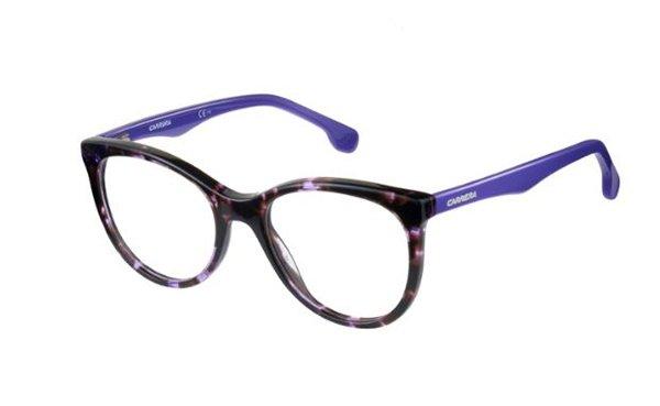 Carrera Carrerino 64 HKZ/38 VIOLET HVNA 50 Women's Eyeglasses