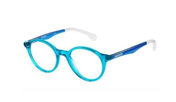 Carrera Carrerino 66 ZI9/19 TRSTEAL TEAL 44 Kids Eyeglasses
