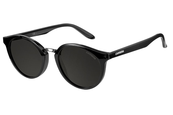 Carrera Carrera 5036/s D28/NR SHINY BLACK 49 Women's Sunglasses