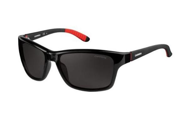 Carrera Carrera 8013/s D28/M9 SHINY BLACK 58 Men's Sunglasses