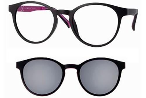 CentroStyle 56303 MT BLACK/ASTA BLACK-FUCH   Eyeglasses