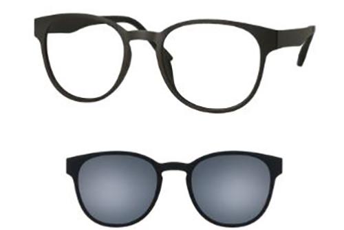 CentroStyle 56340 MATT BLACK 49 19-140 MON   Eyeglasses