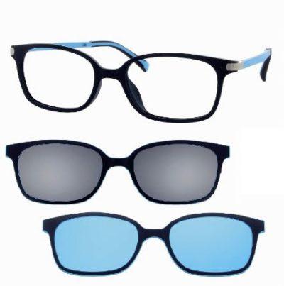 CentroStyle F007247125000 MATT SOLID BLUE/   Eyeglasses