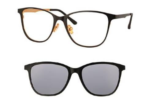 CentroStyle F015051196000N MATT BLACK/SHIN  51 Women's Eyeglasses