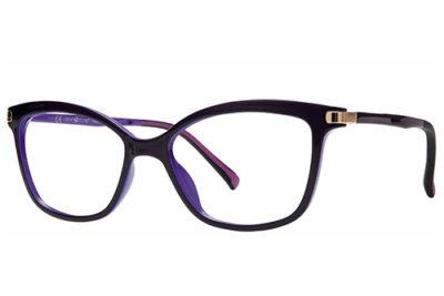 CentroStyle F020450065000 DARK VIOLET 50 1  50 Women's Eyeglasses