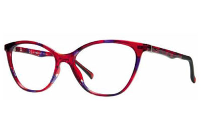 CentroStyle F021452277000 RED/PURPLE 52 16   Eyeglasses