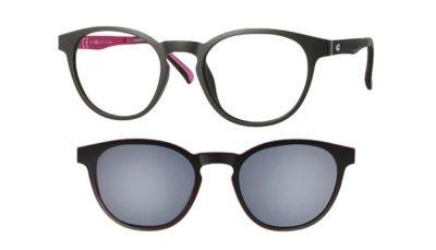 CentroStyle 56363 MATT BLACK/FUCHSIA47 19-   Eyeglasses
