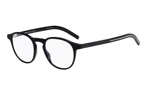 Christian Dior Blacktie250 807/20 BLACK 47 Men's Eyeglasses
