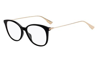 Christian Dior Diorsighto1 807/16 BLACK 52 Women's Eyeglasses