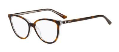 Christian Dior Montaigne33 U61/15 HAVANA CRY 52 Women's Eyeglasses
