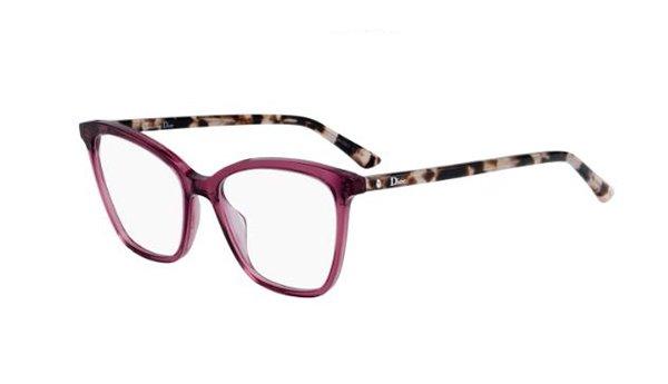 Christian Dior Montaigne46 0UC/17 RED HAVANA 52 Women's Eyeglasses