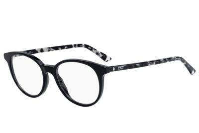 Christian Dior Montaigne47 WR7/17 BLACK HAVANA 49 Women's Eyeglasses